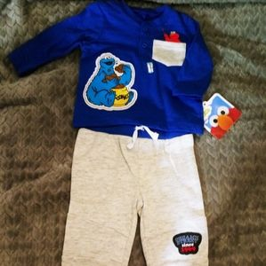Infant Boys Sesame Street Outfit